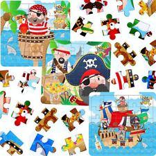 German Trendseller® - 3 x Piraten Puzzle | Kindergeburtstag | Mitgebsel | Pirat