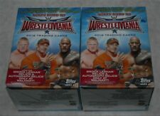 WWE TOPPS WRESTLING ROAD TO WRESTLEMANIA TRADING CARDS BLASTER BOX LOT OF 2NEW