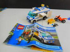 Lego's Set 7286 Prisoner Transport w/ Mini Figures (Loose) & Directions