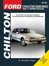 1989-2011 Ford Crown Victoria Grand Marquis Repair Manual 07 2008 2008 2010 2446