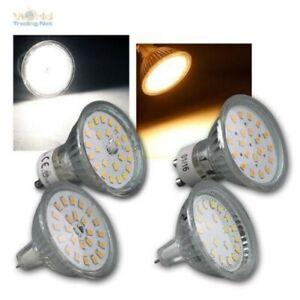 Spotlight Light GU10/MR16, SMD LED 120° Warm / Neutral Bulbs Reflector