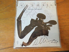 Rare Signed - Serafin Things Fall Apart CD1 single tmcds5003. 2003