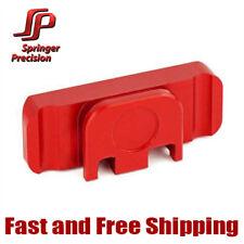 Springer Precision Duty/Carry EZ Ambi Slide Racker Backplate For Glock - Red