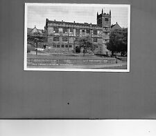 Shropshire Shrewsbury Free Library and Museum J Salmon card unposted A032