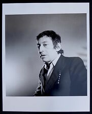 Photo Jean Marc Hannon - Serge Gainsbourg - Tirage d'exposition 40 x 50 -