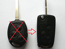 Fits Ford Focus Mondeo Ka 3 Button Conversion Flip Key Fob Remote Case
