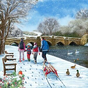 Ashgate Hospice Christmas Cards 10 Packs in 2021 designs - 10 to choose from