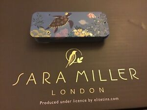 NEW! Sarah Miller Mini Slider Tin, 3.5x8x1.2cms, Turtle