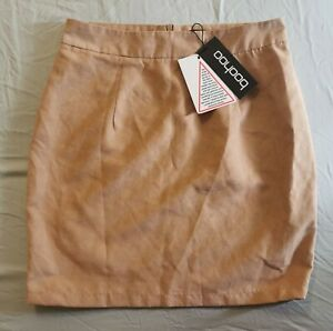 Boohoo Soft Suedette Mini Skirt - brand new with tags - size 10 UK
