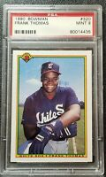 1990 FRANK THOMAS Bowman Rookie RC #320 PSA 9 MINT MLB WHITE SOX MINT ROOKIE MLB