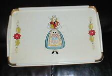 Vintage Pennsylvania Dutch Wood Hand Painted Tray~Kitchen Decor,Serving,Wall Art