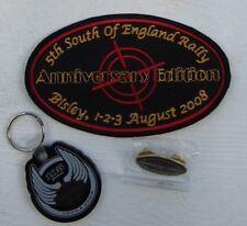 Harley Davidson HOG Bisley SOFER 2008 Patch, pin & keyring.  FREE U.K. POSTAGE!