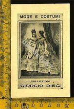 Ex Libris Originale Di Giorgio Dieci a 391 Mode e Costumi