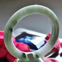 Natural jadeite jade 58mm ice green bangle bracelet 78.2gr