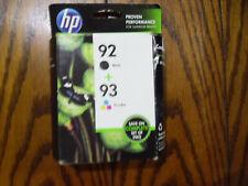 *** Sealed *** Genuine HP 92 Black & 93 Tri Color Ink Cartridge Combo Pack
