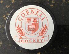 Super Rare ECAC D-1 Men Ice Hockey Cornell -v- Harvard Game Used Puck 11/07/09
