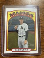 2021 Topps Heritage AARON JUDGE Missing Stars Parallel #121 Rare SSP Beauty!