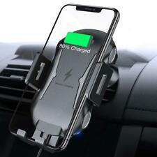 iPhone 11, Pro, Max CAR MOUNT AIR VENT HOLDER FAST WIRELESS CHARGER CRADLE S3F