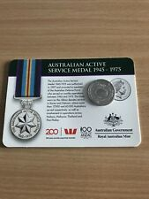 2017 Legends of the Anzacs Collection - Active Service Medal 1945 - 1975 COIN 12
