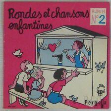 Jean Effel 45 tours Rondes et chansons N°2 Pochette rose