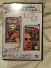 WWE Tagged Classics - In Your House 9 & 10 DVD WWF Rare
