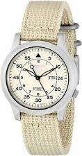Seiko 5 Automatic Military Style Beige 37mm Case Mens Watch SNK803K2 RRP £169