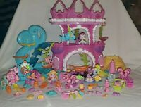 My Little Pony MLP Mermaid Pony Castle Ponyville Lot with Accessories +  Ponies