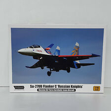 Wolfpack 1/48 Plastic Model Kit SU-27UB Flanker C Russian Knights 14801