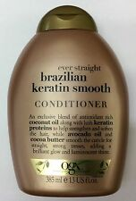 2x OGX Organix Brazilian Keratin Therapy Ever Straight Conditioner 385ml
