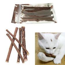 10x Catnip Cat Chew Stick Silvervine Teeth Molar Cleaning Pet Care Toys Matatabi