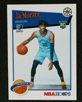 2019-20 Panini NBA Hoops #259 Ja Morant RC Rookie Ungraded Condition PSA 10?