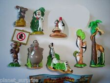 MADAGASCAR 2 2008 KINDER SURPRISE FIGURES SET - FIGURINES COLLECTIBLES