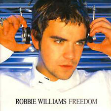 CD Single Robbie WILLIAMS Freedom CARD SLEEVE 2-track