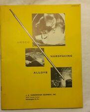 VINTAGE AMSCO WELDING HARDFACING ALLOYS CATALOG 9 1953 Am. Manganese Steel Div.