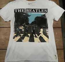 Amplified (Nylon Rocker)The Beatles Abbey Road White T shirt S,M vintage