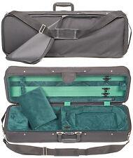 Bobelock Featherlite 4/4 Violin Case: Green Velour