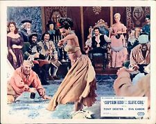 CAPTAIN KIDD AND THE SLAVE GIRL BELLY DANCER LOBBY CARD