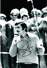 Tony Jacklin Claret Jug Winner Hand Signed Photo 12x8 2.