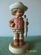 Lucie Attwell - Memories of Yesterday 'WAITING FOR THE SUNSHINE' Figurine #S0002