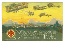 Italy  Special Card  Firenze Meet  1910