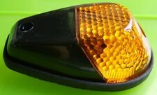 INDFBLK - Flush Mounting Fairing INDICATORS Black Body AMBER - NEW