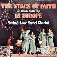 THE STARS OF FAITH Of Black Nativity Europ Ger Press LP