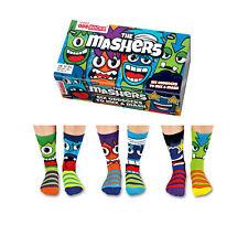 United Oddsocks - Boys Mashers Socks - Size 12-6 - Boys Novelty Socks