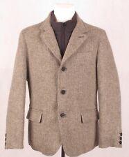TWEED DOWN JOHN HANLY ROYAL MC Kenzy Mens Green Brown Blazer Coat Jacket S M