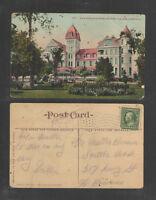 1910 MAIN ENTRANCE HOTEL VENDOME SAN JOSE CALIFORNIA POSTCARD
