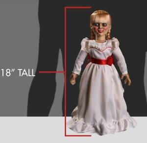Annabelle Doll Mörderpuppe Conjuring Puppe Life Size Figur 1/1 46cm Mezco Toys