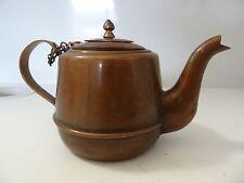 ANTIQUE MONGOLIAN TIBETAN BUDDHIST COPPER small pot for butter lamp filling