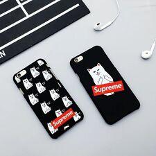 Fashion Brand Supreme X RIPNDIP iPhone  6/6s and Plus, 7/7plus Case