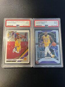 LeBron James - 2 Card PSA 9 Lot #1