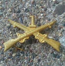 Pre WWI First Infantry Cap Badge.
